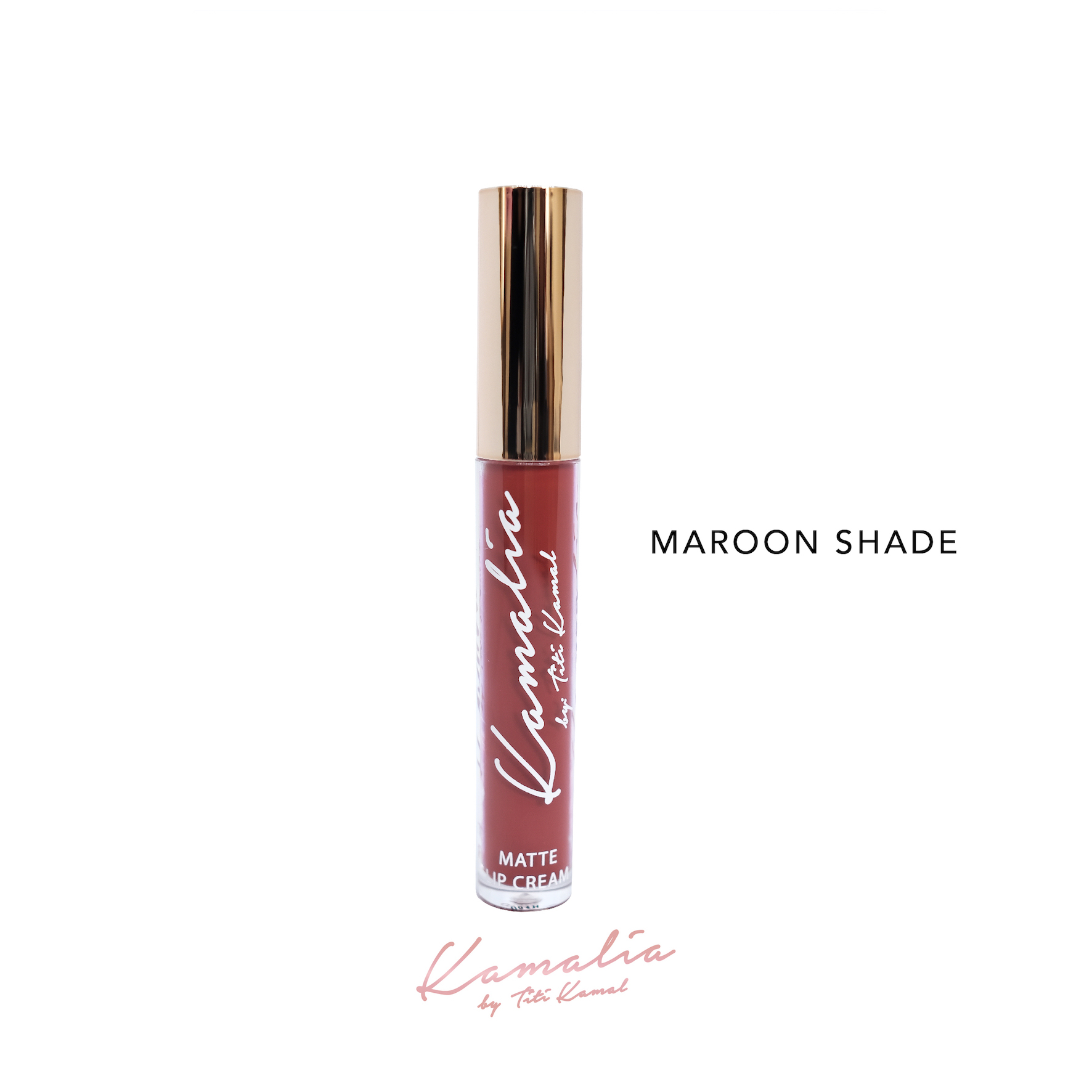 Kamalia Beauty - Kamalia Beauty Lip Matte – Maroon Shade @ 4.2 ml