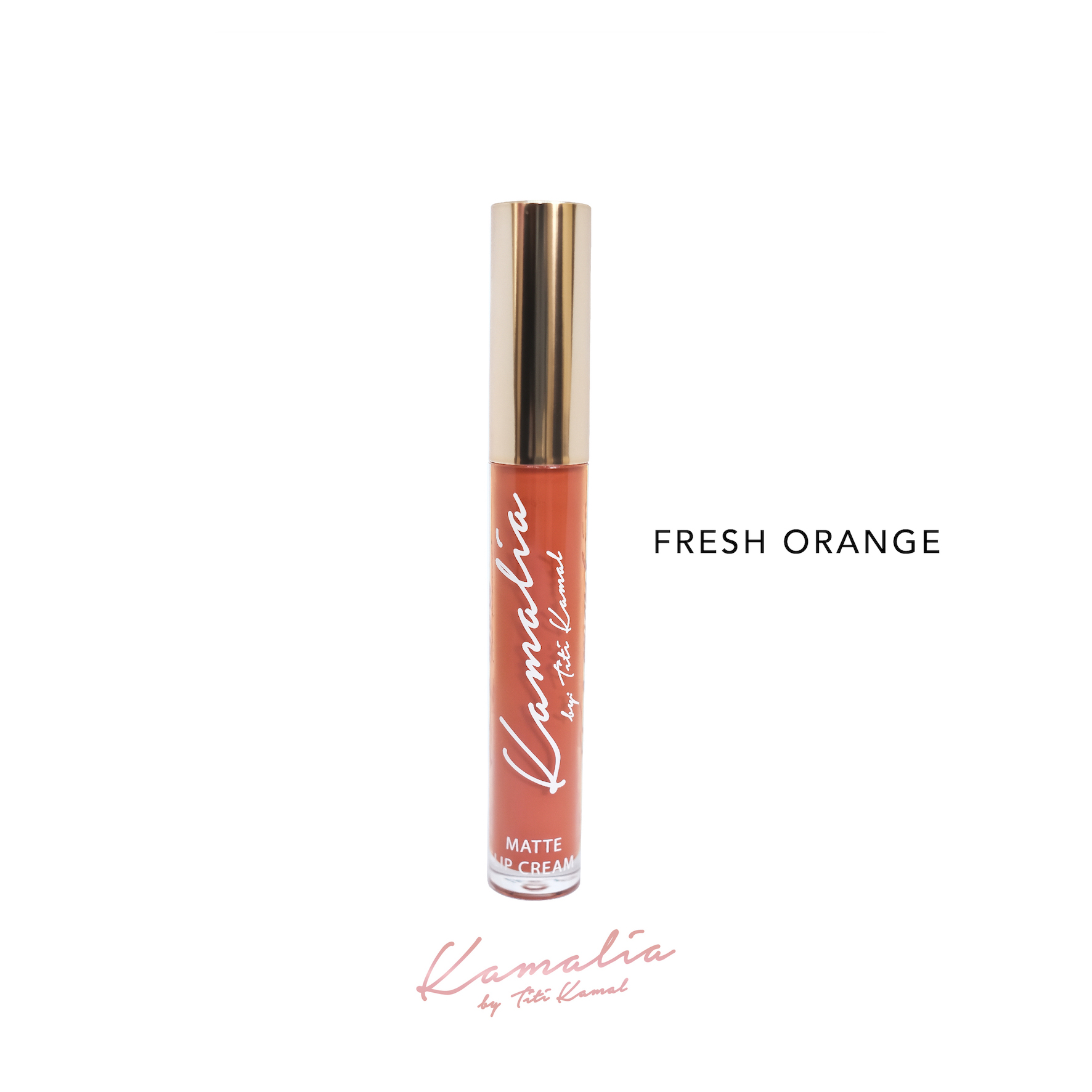 Kamalia Beauty - Kamalia Beauty Lip Matte – Fresh Orange @ 4.2 ml